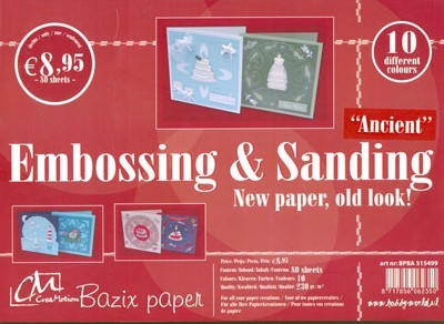 CreaMotion - Paperblok - Bazix - Baby Sands - 5152