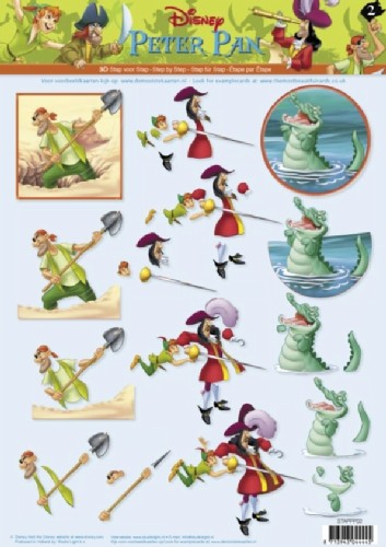 Studio Light - Disney - 3D-knipvel A4 - Peter Pan - STAPPP02