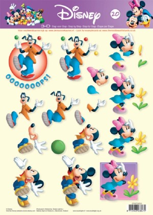 Studio Light - 3D-knipvel A4 - Disney - STAPDIS20