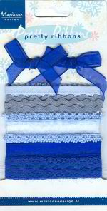 MD Pretty Ribbons: dark blue