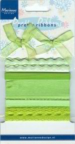 Marianne Design - Pretty Ribbons: green - RIB7804