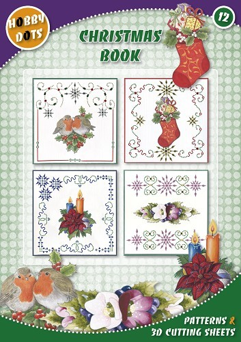Card Deco - Hobbydotsboek - No. 12 - Christmas Book - HDOT012