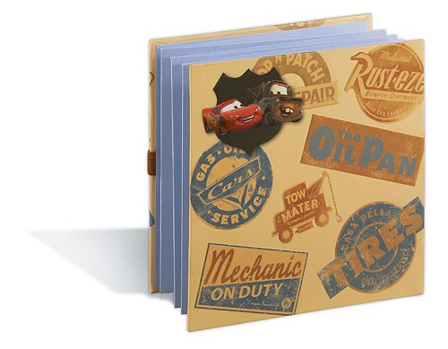 Cars 6 x 6inch Accordion Album