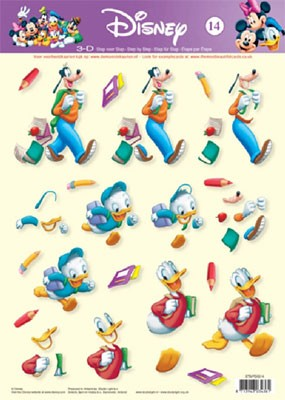 Studio Light - 3D-knipvel A4 - Disney - STAPDIS14