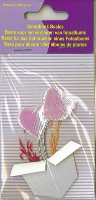 Hobby & Crafting Fun - Scrapbook Basics - Hartjes - 11810-6005