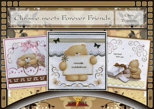 Card Deco - Hobbydols - No. 68 - Chrissie meets Forever Friends