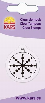Kars - Clearstamp - Christmas bauble - 180009/2038