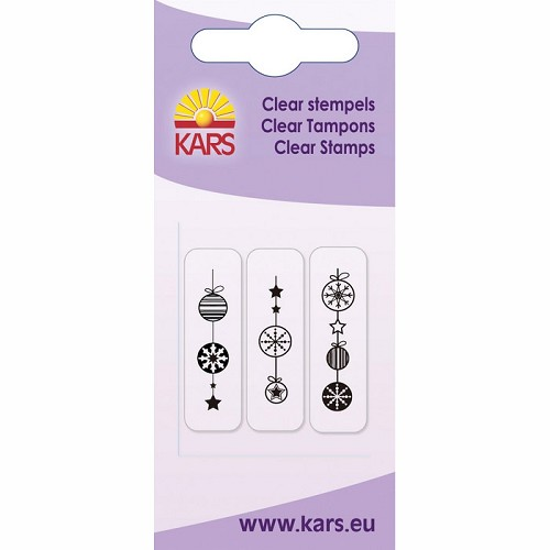 Kars - Clearstamp - Christmas hanger - 180009/2024