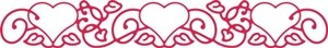 Cheery Lynn Design - Die - Hearts D`Vine - B142