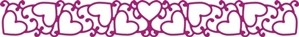 Cheery Lynn Design - Die - Tangled Hearts - B143