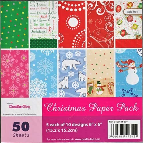 Crafts-Too - Paperpack - Christmas - CT20631-2011