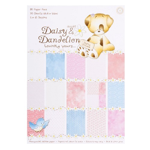 DoCrafts - Daisy and Dandelion - Paperpack - Lovingly Yours - DND160101