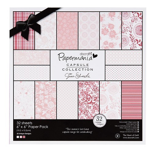 Papermania - Paperpack - Capsule Collection - Parkstone pink - PMA160301