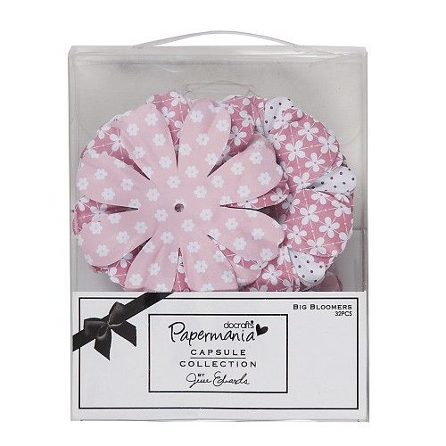 Papermania - Big Bloomers: Parkstone pink - PMA368100