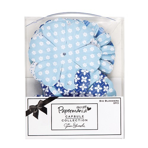 Papermania - Big Bloomers: Burleigh blue - PMA368101
