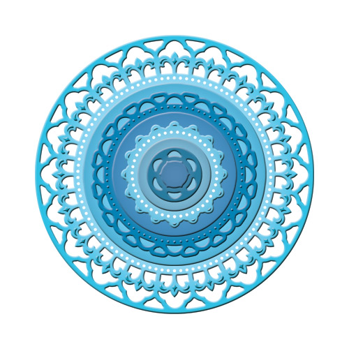 Spellbinders - Die - Nestabilities - Decorative Elements - Splendid Circles
