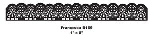 Cheery Lynn Design - Die - Francesca - B159