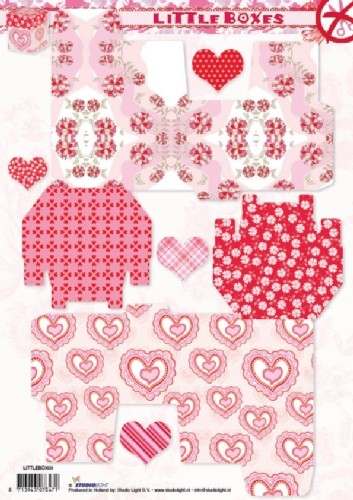 Studio Light - Littleboxes - Hearts - LITTLEBOX03