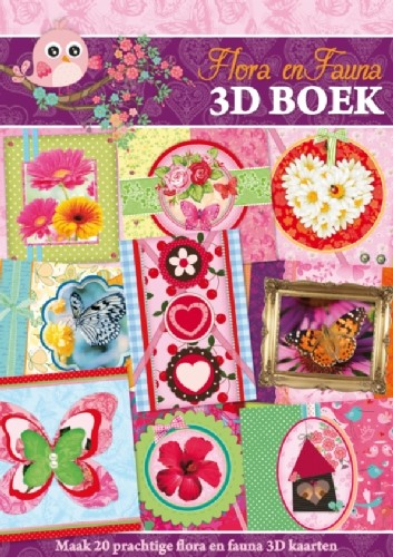 Studio Light - 3D-kaartenboek - Flora en Fauna