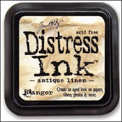 Ranger - Distress Ink: Antique Linen - TIM19497