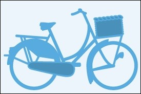 Marianne Design - Die - CreaTables - Fiets (bicycle) - LR0233