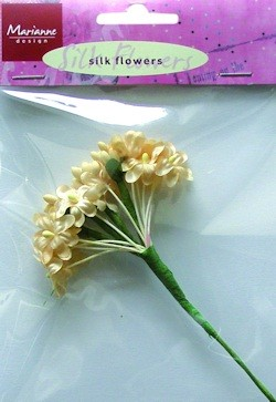 Marianne Design - Silk Flowers: off-white - JU0852