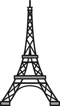 Marianne Design - Die - Craftables - Eiffel tower