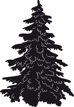 Marianne Design - Die - Craftables - Christmas Tree