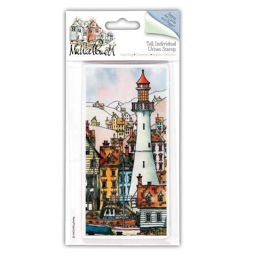 DoCrafts - Michael Powell - Cling Stamp - On the Lookout - MPL907208