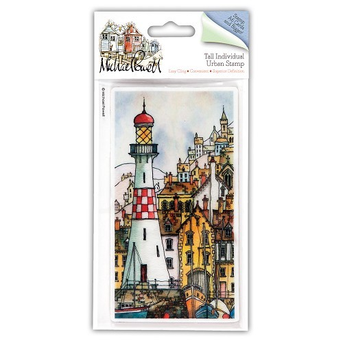 DoCrafts - Michael Powell - Cling Stamp - Harbour Master - MPL907206