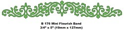 Cheery Lynn Design - Die - Flourish Band - B176