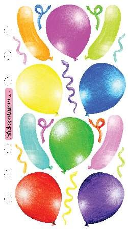 EK Success - Vellum stickers - Balloons - SP-VM-16