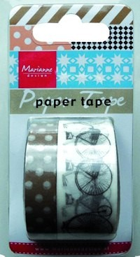 Marianne Design - Paper tape - Bicycles - PT2307