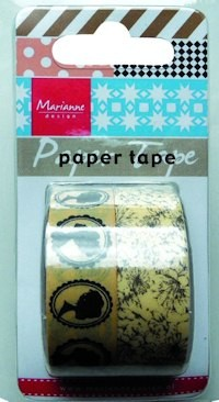 Marianne Design - Paper tape - Silhouets - PT2310