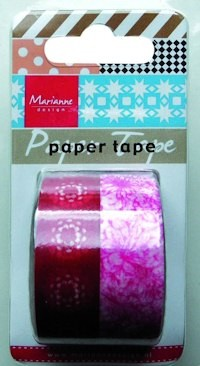 Marianne Design - Paper tape - Flowers - PT2312