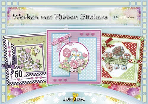 Card Deco - Hobbydols - No. 79 - Werken met Ribbon Stickers