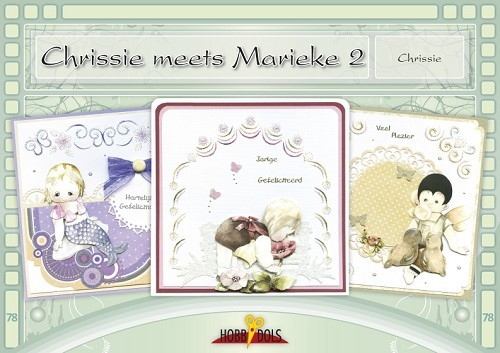 Card Deco - Hobbydols - No. 78 - Chrissie meets Marieke 2