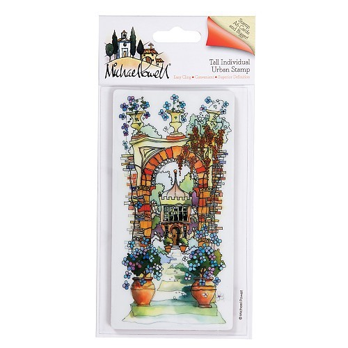 DoCrafts - Michael Powell - Cling stamp - Secret Garden - MPL907201