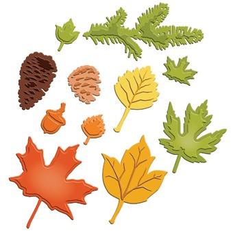 Spellbinders - Die - Shapeabilities - Fall Foliage