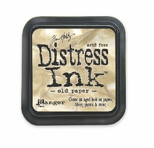 Ranger - Distress Ink: Old Paper - TIM19503