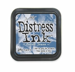 Ranger - Distress Ink: Faded Jeans - TIM21452