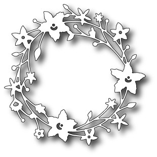 Memory box - Die - Catalina Wreath - 98189