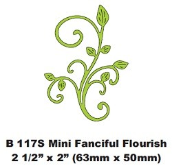 Cheery Lynn Design - Die - Fanciful Flourish (small)