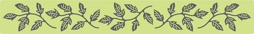 Cheery Lynn Design - Die - Flourish Leaf Strip - B178