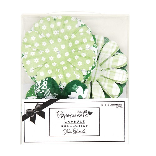 Papermania - Big Bloomers: Chelsea Green - PMA 368104