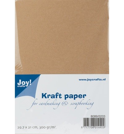 Joy!crafts - Papier - Kraft Paper - A4 - 8089/0203