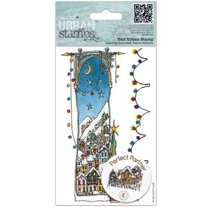 DoCrafts - Michael Powell - Cling Stamp - White Christmas - MPL907214