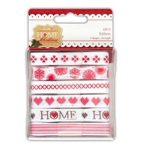 Papermania - Ribbons - Home for Christmas - PMA367140