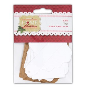 Papermania - Home for Christmas - Labels - PMA157915