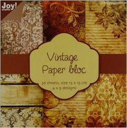 Joy! crafts - Noor! Design - Paperpack - Vintage 2 - 6011/0102